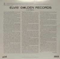ELVIS PRESLEY Elvis' Golden Records Vinyl Record LP Wax Love 2018